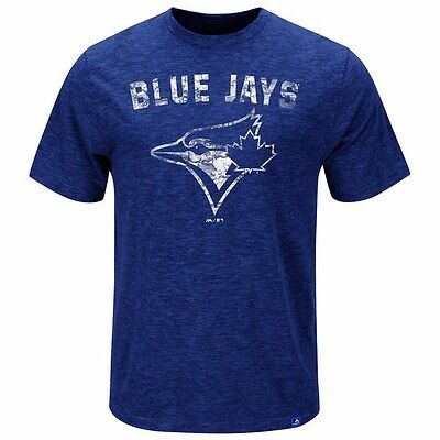 MLB Baseball T-Shirt TORONTO BLUE JAYS Hours and Hours von Majestic