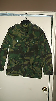 Camo uniform Tanzania jump jacket. Mint. Very rare. medium