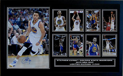 Stephen Curry Oklahoma City Signed Limited Edition Framed Memorabilia
