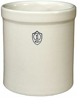 "Ohio Stoneware 1GC Crock 7-34/""x8-1/4"" - 1 Gallon"