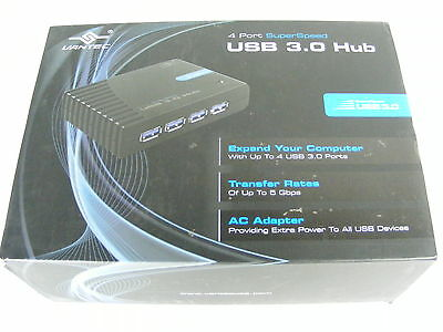 4 PORT Super Speed USB 3.0 HUB Vantec UGT-MH430U3