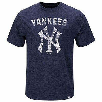 MLB Baseball T-Shirt NEW YORK NY YANKEES Hours and Hours von Majestic