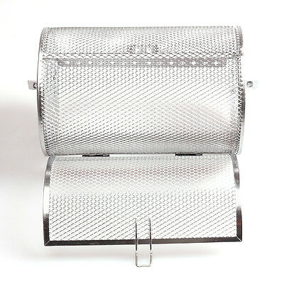 Stainless Steel Rotary Drum Baking Cage Used For Roast Fries Peanuts Melon Seeds