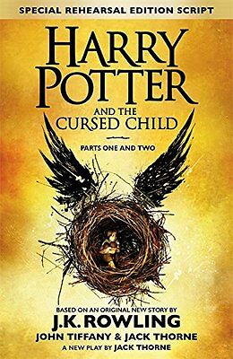 Harry Potter and the Cursed Child - Parts One & Two * FREE EXPRESS DELIVERY *