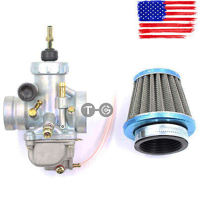 New Carburetor Carb with Air Filter for Yamaha Blaster 200 YFS200 1988-2006