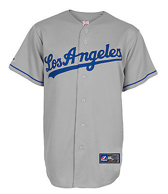 MLB Baseball Trikot Jersey LOS ANGELES DODGERS Road grau von Majestic