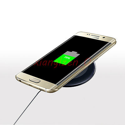 Genuine Samsung Galaxy S6 S7 Edge Note 5 QI Wireless Charger Charging Pad Plate