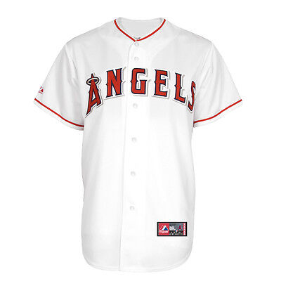 MLB Baseball Trikot/Jersey LOS ANGELES ANAHEIM ANGELS L.A. Home white Majestic