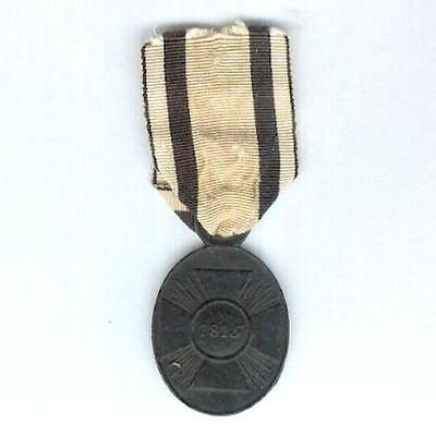 GERMANY, Prussia. Campaign Medal (Waterloo Medal) for non-combatants , 1815