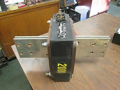 ABB Type CLC Current Transformer CA2000M4 Ratio 2000:5A Used