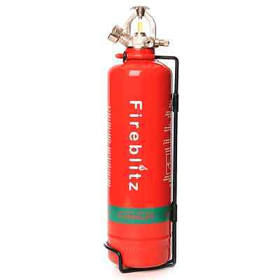 New Fireblitz 2Kg Clean Agent Gas Automatic Fire Extinguisher Roof Free Shipping