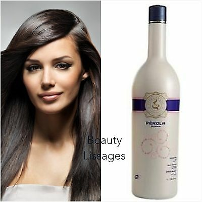 Lissage Bresilien Eternity Liss Perola Solo 100 Ml / Authentique !!! ( Inoar )