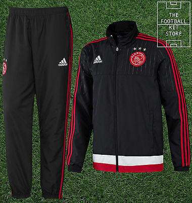 Ajax Presentation Tracksuit - Official Adidas Football Training Wear - All Sizes