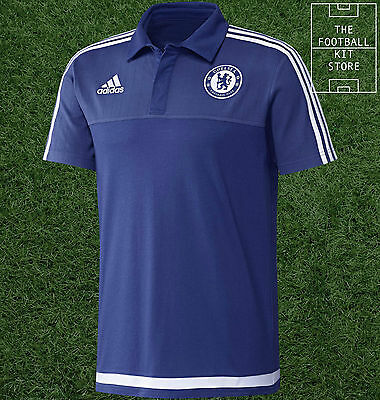 Chelsea Polo Shirt - Official Adidas Football Training Wear - All Sizes