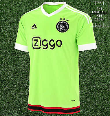 Ajax Away Shirt - Official Adidas Football Shirt - Mens - All Sizes