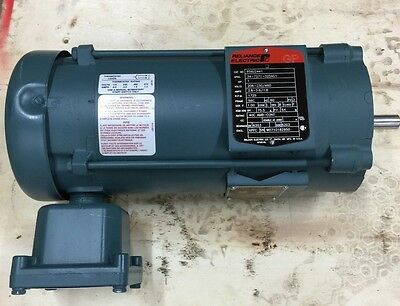 New Reliance Electric Motor 1Hp 1725 Rpm 3 Phase Baldor P56J2441
