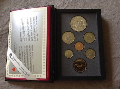 1989 Royal Canadian Mint Coin Set
