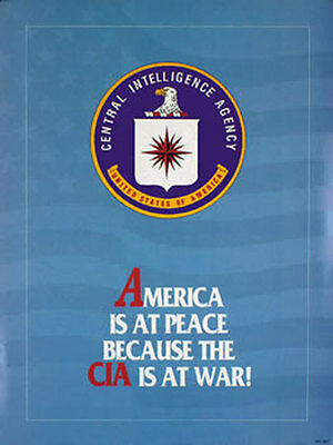 CIA Collectors Print