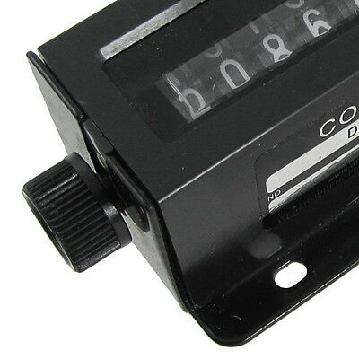 D94-S 0-999999 6 Digit Resettable Mechanical Pulling Counter H1