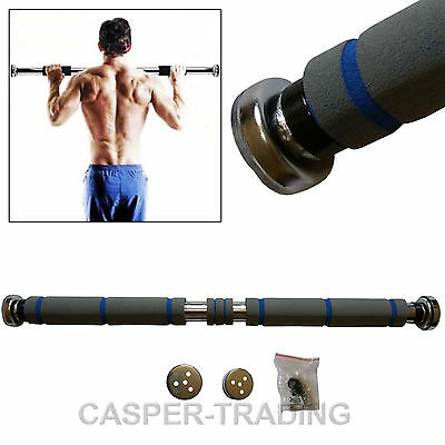 Exercise Home Door Gym Pull Push Up Sit Chin Up Bar Iron Abs Fitness Workout UK