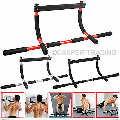 Exercise Home Fitness Door Gym Pull Push Up Sit Chin Up Bar Iron Abs Workout