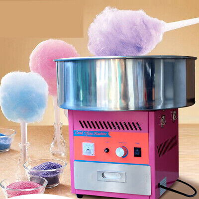 Household/Commercial Electric Candy Floss Making Machine Stainless Steel