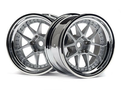HPI DY-Champion 26mm Chrome Wheels 114636