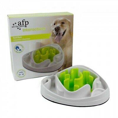 ALL FOR PAWS AFP INTERACTIVES FOOD MAZE dog puppy interactive treat toy game