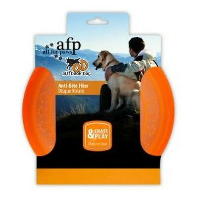 ALL FOR PAWS AFP OUTDOOR DOG ANTI BITE FRISBEE soft flexible dog toy