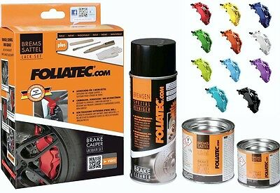 Foliatec Brake Caliper Paint Kit - Glossy - Rs Blue