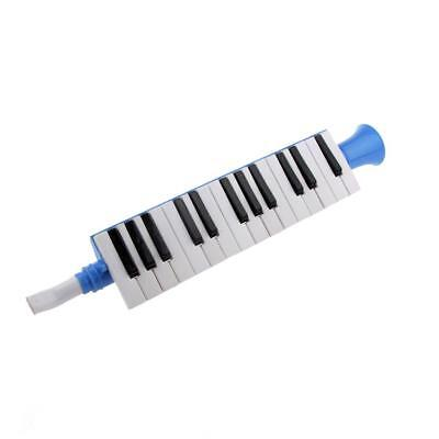 27 Key Plastic Blue Piano-style Melodica Ideal for Students Children Learing