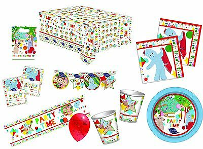 In The Night Garden Party Tableware Napkins Plates Cups Tablecover Decorations