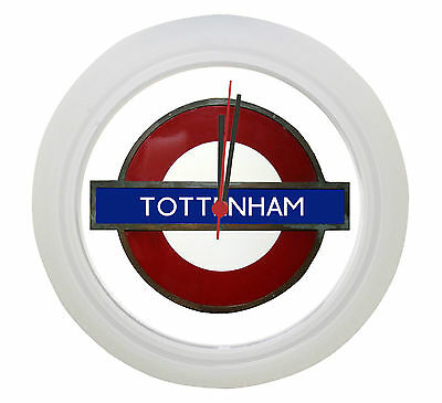 Tottenham Underground Tube Wall Clock ! Great Gift !