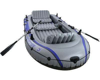 Intex Excursion 5 Includes Pump and Oars, Intex 68325, 5 person capacity-NEW