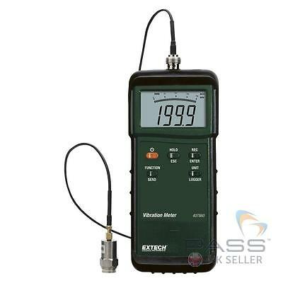 *NEW* Extech 407860 Heavy Duty Vibration Meter with Remote Sensor, 1m Cable / UK