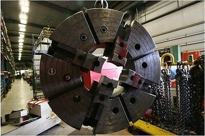 "10336 Warner & Swasey 4 Jaw Chuck with 12"" Bore"