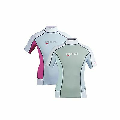 Mares Rash Guard Trilastic Short Sleeve Lady