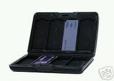 Aluminum Case for 8 Sony Memory Stick & Memory Stick Pro MS Card