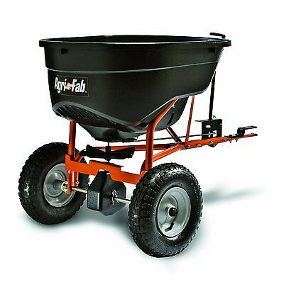 Broadcast Spreader Tow Behind Tractor Lawn Fertilizer Seeder Drop Seed Durable