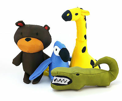 BECOTHINGS BECO FAMILY PLUSH DOG TOYS (VARIOUS DESIGN) puppy pet toy
