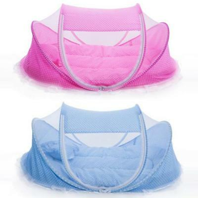 Portable Foldable Baby Bed Infant Crib Cradle Play Shades Travel Mosquito Tent