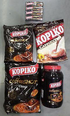 KOPIKO REAL COFFEE CANDY SWEETS STRONG HARD CANDY 27/54/108/216 gram sizes avail