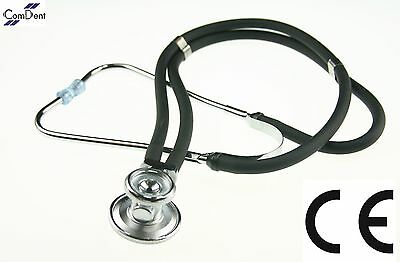 Pro Quality Sprague Rappaport Style Stethoscope Black New