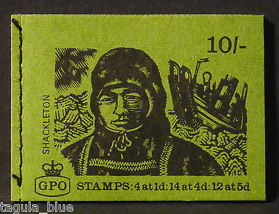 SG XP9 Aug 1969 Shackleton 10/- Stitched Booklet - Intact