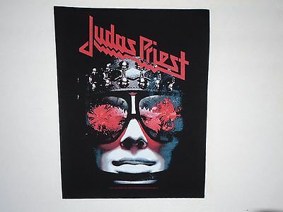 Judas Priest Hell Bent For Leather Back Patch