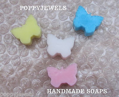 Baby Shower/party Mixed Fragrance Butterfly Soaps Choose A Quantity & Colour