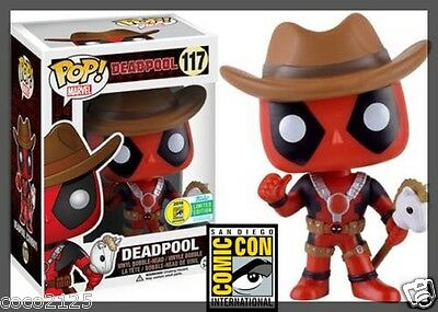 2016 sdcc comic con sticker funko pop marvel exclusive cowboy