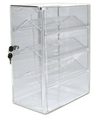 Display Collectors Showcase Lockable Double Sided Acrylic Showcase