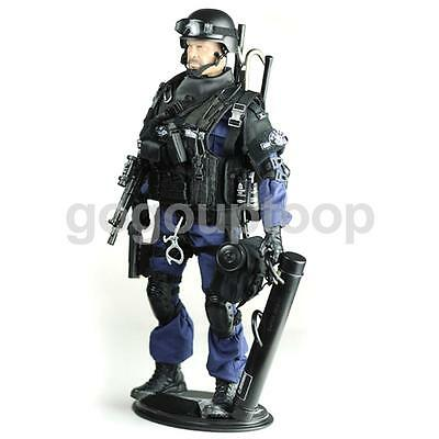 12 Inch 1/6 Scale Military Army Combat SWAT Soldier Action Figure Model Toy