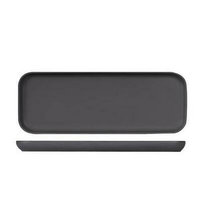 4x Serving Tray, Slate Grey, 350x130mm, Bevande, Plate / Cafe / Restaurant